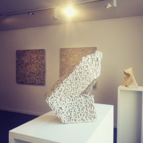 Jordi Marcet Rosa Vila-Abadal Calligrafia Puntual exposicio exposicion exhibition